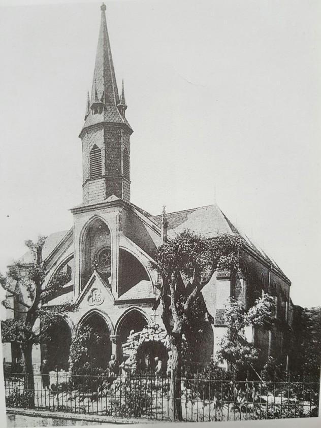 Gomez Hanweiler Kirche 1904